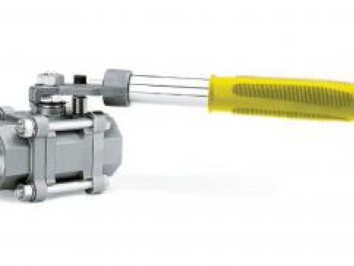 VET - Válvula de Esfera Tripartida com Dispositivo de Bloqueio Automático