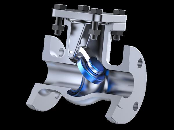 Válvula de retenção portinhola
