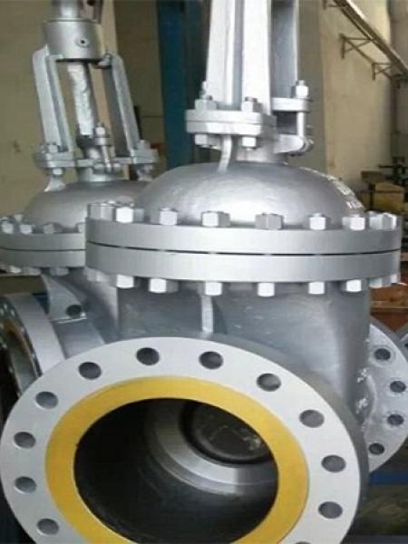 Válvula Gaveta em produção