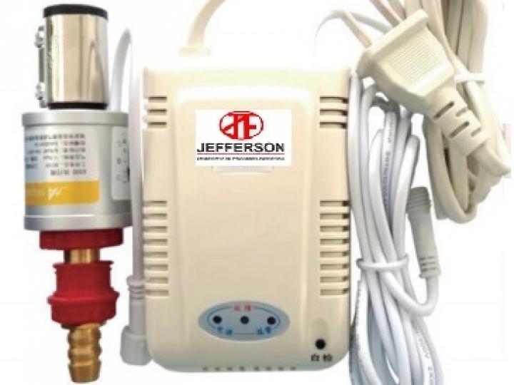 sistema de segurança para corte de gás