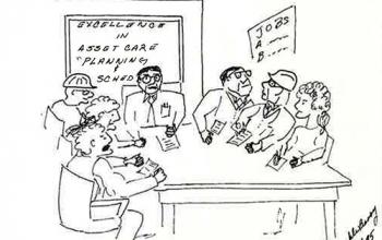 A política do agendamento de manutenção Industrial