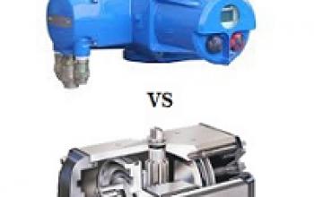 Como decidir entre atuador pneumático e Atuador elétrico