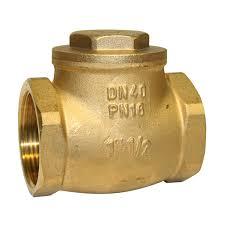 Valvula de retenção portinhola Bronze